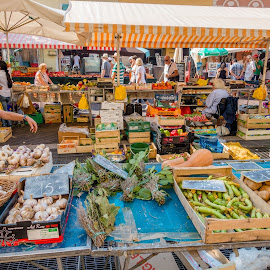 Nice Market by Andrew Moore - City,  Street & Park  Markets & Shops