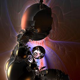Baby Face by Rick Eskridge - Illustration Sci Fi & Fantasy ( fantasy, jwildfire, mb3d, fractal, twisted brush )