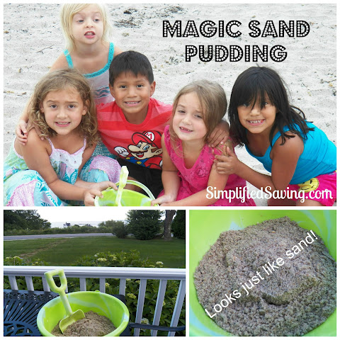 Magic Sand Pudding