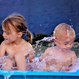 Splish Splash by Daniela Gisi Havenga - Babies & Children Children Candids