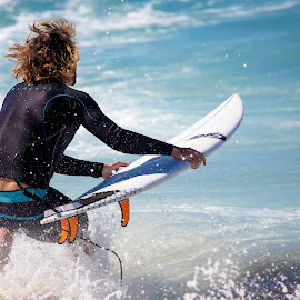 Lets go Surfing by Rebecca Ramaley - Sports & Fitness Surfing ( surfing, ripcurl, action, sydney, bronte )
