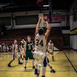 jump by TJ Morrison - Sports & Fitness Basketball ( basketball, 2, win, scorw, hoops )