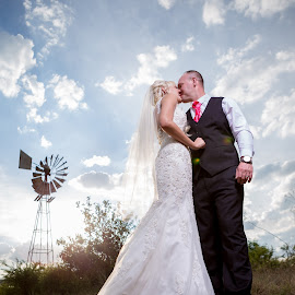 Clouds by Lodewyk W Goosen (LWG Photo) - Wedding Bride & Groom ( wedding photography, wedding photographers, wedding day, weddings, wedding, brides, wedding dress, bride and groom, bride, groom, bride groom )