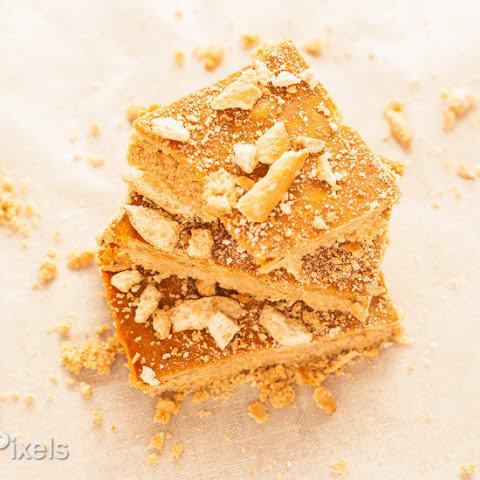 Peanut Butter Honey Pretzel Butterscotch Bars