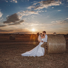 Love is beautiful by Mandy Christodoulou - Wedding Bride & Groom ( cyprus sunset, cyprus wedding photographer, cyprus bride and groom, weddings in cyprus, cyprus wedding )