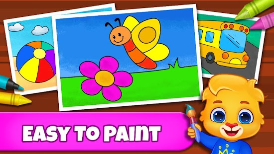 Coloring Games: Coloring Book, Painting, Glow Draw for pc