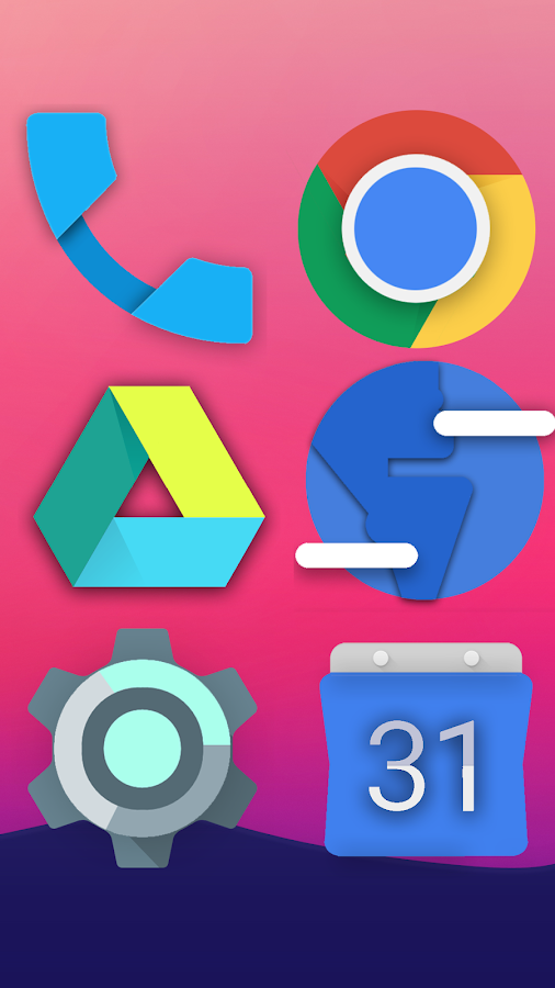 Nougat - Icon Pack Screenshot 2