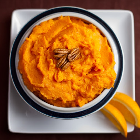 Orange infused Mashed Yams sweetened with Pure Maple Syrup. Light, smooth….and mysterious.