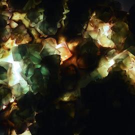 Lit Up Gemstone by Jenny Jones - Abstract Patterns (  )