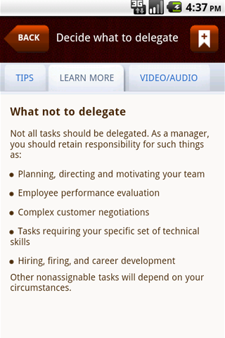Mobile ManageMentor-Enterprise Screenshot 3