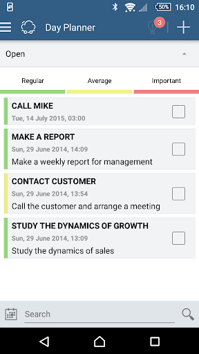 Smarty CRM: organizer, chat - screenshot