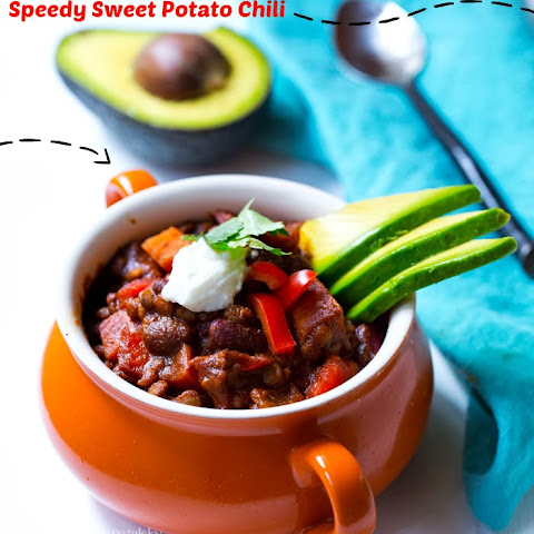 Speedy Sweet Potato Chili