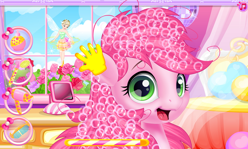 android Baby pony grooming makeover Screenshot 9