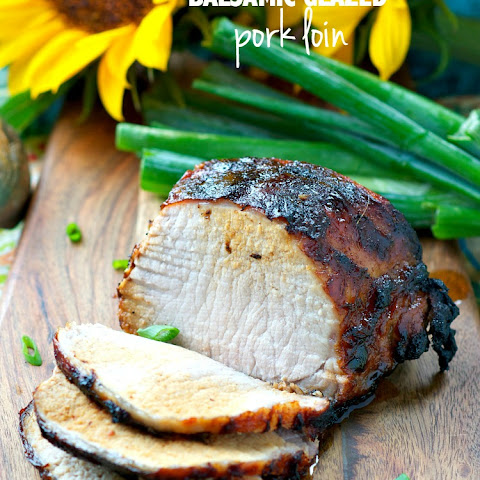 Balsamic Glazed Pork Loin