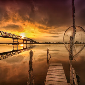 there is still go on..not end of the bridge by Andi Adinata - Landscapes Sunsets & Sunrises