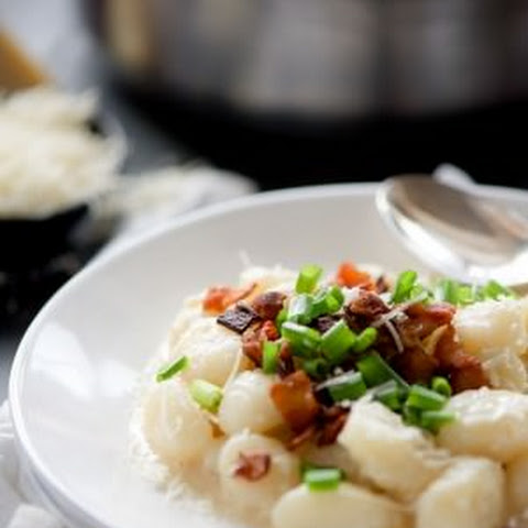 Skinny Loaded Baked Potato Gnocchi