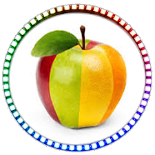 Fruits Coloring Kids Learning