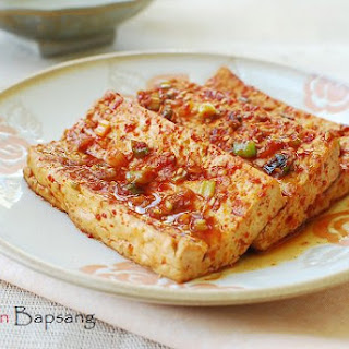 Dubu Jorim (Korean Braised Tofu)