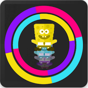 Download Colored Spongbobe Jump For PC Windows and Mac