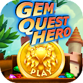 Gem Quest Hero - Match 3 Game