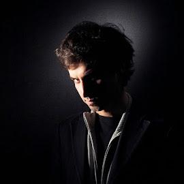 Mike by Ulises Rivero - People Portraits of Men ( headshot, dramatic, musician, men, portrait,  )