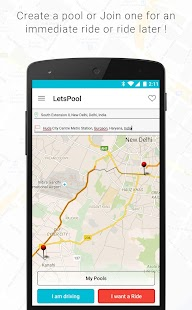 LetsPool - Ride Sharing - screenshot