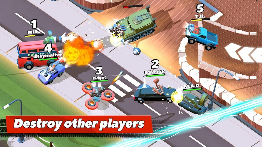 Crash of Cars Android App Screenshot