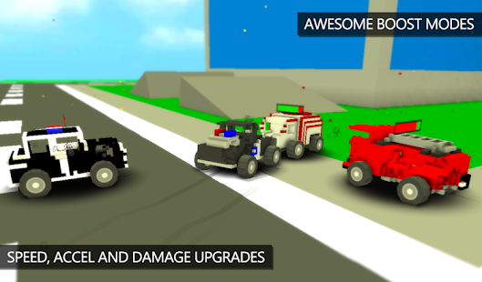 Blocky Demolition Derby- screenshot thumbnail
