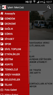 Afyon Haber - screenshot