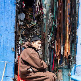 Shopkeeper by VAM Photography - People Street & Candids ( places, shopkeeper, culture, morocco, travel, people,  )