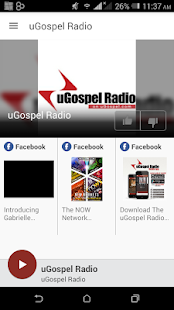 uGospel Radio - screenshot