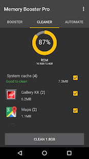 Memory Booster for Android Pro Screenshot