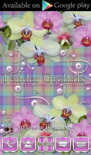 How to download Tender Orchids Go Locker theme patch 1 apk for pc