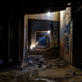 Ray of Light by Vinod Kalathil - Buildings & Architecture Decaying & Abandoned ( urbex, building, chicago, decay, abandoned )