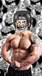 2 Troll Face Photo Montage Free App screenshot