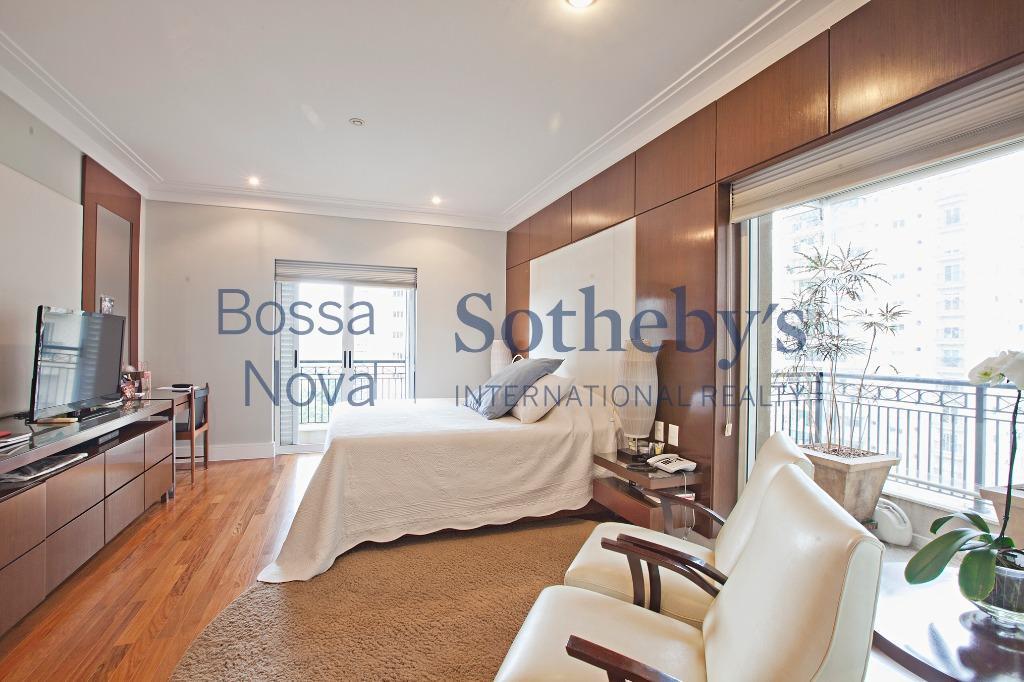 Apartamento para locação, mobiliado com vista para o Parque do Ibirapuera.