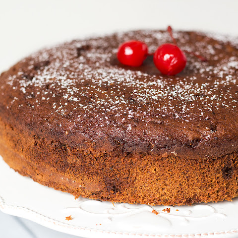 Good food recipes » Cherry rum cake recipe