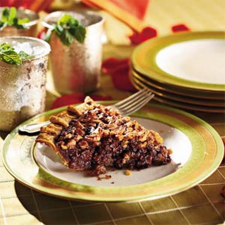 Chocolate-Bourbon Pecan Pie Rezept | Yummly