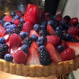 Summer Tart by Lope Piamonte Jr - Food & Drink Candy & Dessert