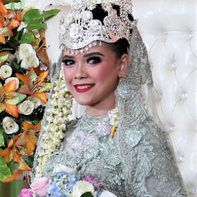 Smile by Budi Dermawan - Wedding Reception ( wedding photography, wedding day )