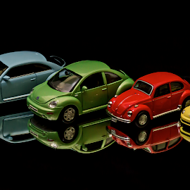 Volkswagens by Muhd Shahjeehan - Artistic Objects Toys