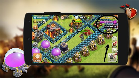Free Cheat For Clash Of Clans-Prank APK for Windows 8