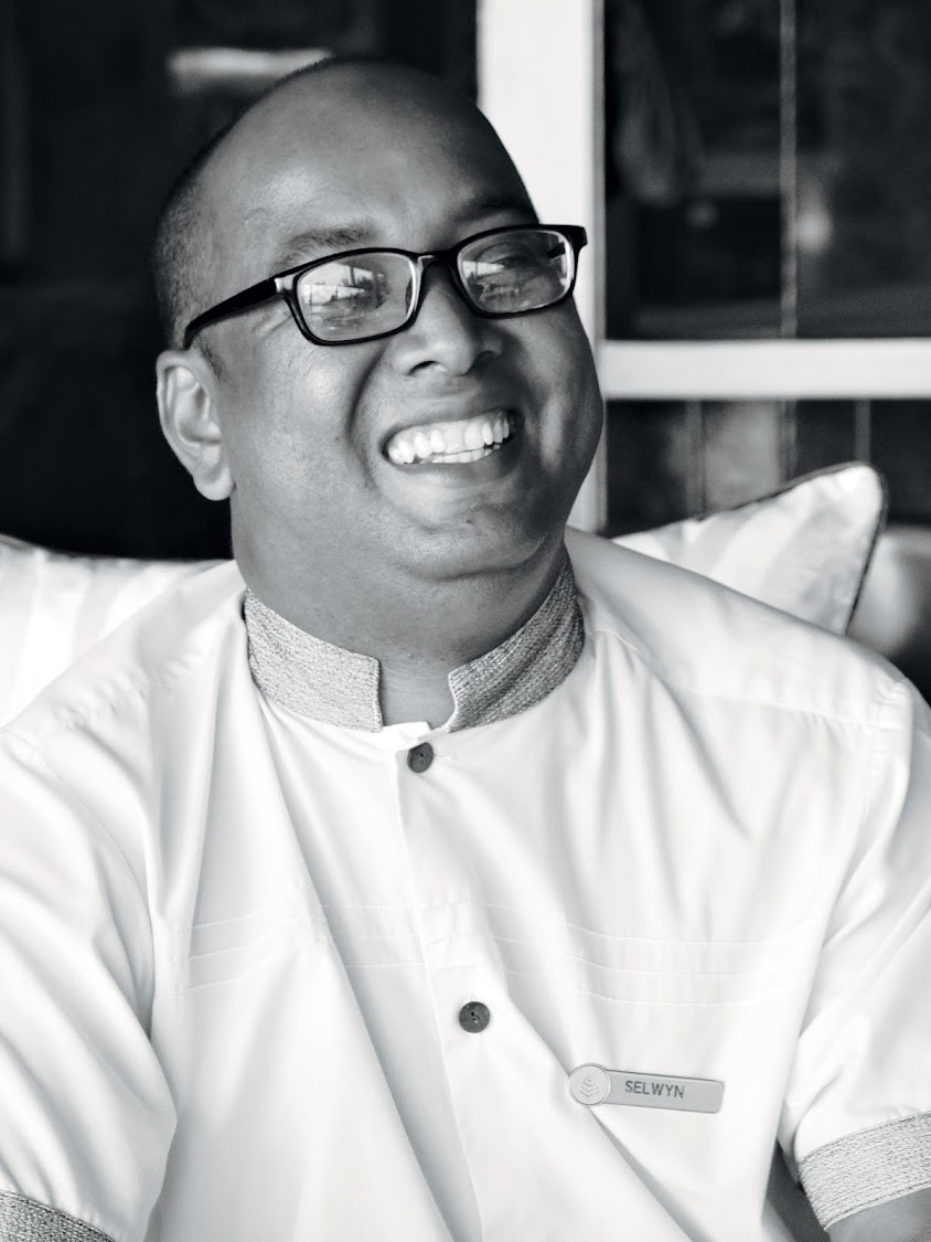 Selwyn Boudanne, Concierge at Four Seasons Hotel, Seychelles