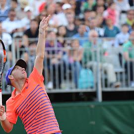 Dudi Sela  by James Perkins - Sports & Fitness Tennis ( sela, dudi, open, roland, grand, french, tennis, garros, nike, slam )