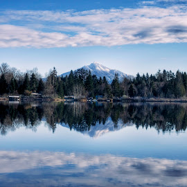 Pilchuck  by Todd Reynolds - Landscapes Mountains & Hills