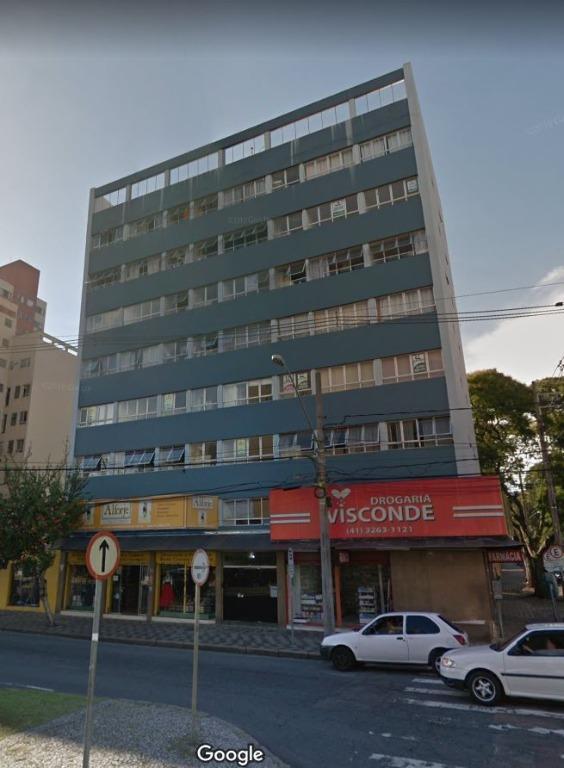 KN0006-ROM, Kitnet de 1 quarto, 32 m² para alugar no Alto da Rua XV - Curitiba/PR