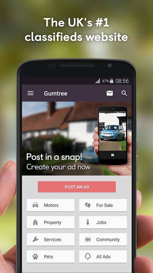 Gumtree: Buy and Sell locally Screenshot 0
