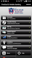 Screenshot of Five Star Credit Union