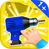 Baby Puzzles. Building Tools APK for Nokia