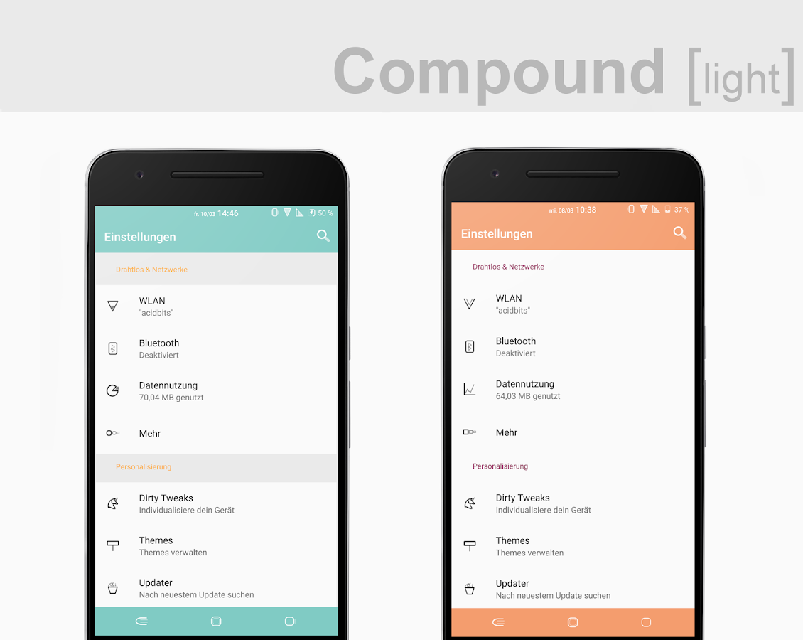 Compound [light] Substratum (Android Oreo/Nougat) Screenshot 4